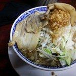 明神 角ふじ - ふじラーメン、麺は¥150g