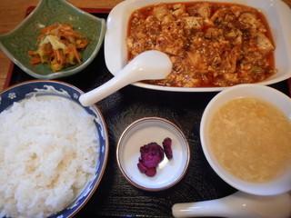 大黒屋 - 麻婆豆腐定食
