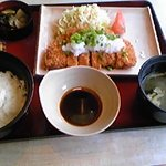 3919323 - おろしロースカツ定食 ¥599