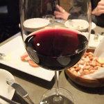 アカツキ - グラスワイン♪