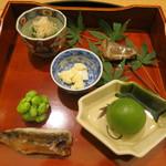 日本料理 太月 - 27年6月 前菜6種