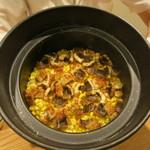 日本料理 太月 - 27年6月 北海道フルーツコーンと焼き鱧の土鍋御飯
