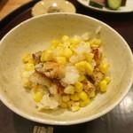 日本料理 太月 - 27年6月 御飯 取り分けて
