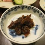 日本料理 太月 - 27年6月 仙台牛しぐれ煮