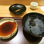 日本料理 太月 - 27年6月 葛きり