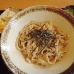 なかむら一笑 - 料理写真:冷しコマ汁うどん(並)