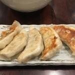 炎麺 - 焼き餃子