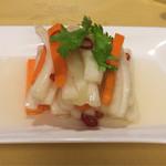 北海園 - 白菜の酢漬け(650円)