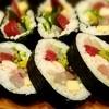 かつ田 - 料理写真:太巻き