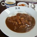 レストラン真珠 - カレーライス 500円