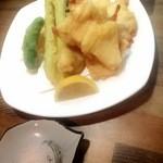 あご屋 - 鶏天ぷら