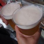 鳥勇 - 生ビール¥500