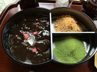 廚 菓子 くろぎ - わらびもち(2015/6)