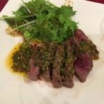 バル ポルテーニョ - 牛肉のアサード(グリル)チミチュリソース
