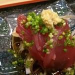 寿司久 - 初カツオ刺し