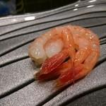 寿司久 - 甘海老刺し