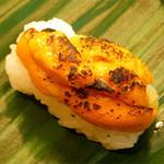 清寿司 - 海胆の炙り