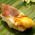 清寿司 - ホッキの炙り