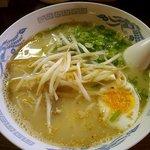 麺道楽 かぶとや - おっぱいらぁめん(700円)