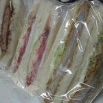 サンドイッチ工房 サンドリア - いろいろサンド