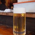 立ち飲み 晩杯屋 - 生ビール¥410