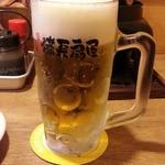 39200978 - 生ビールはスーパードライ420円