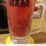 備長扇屋 - トマトハイ380円