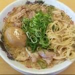 来来亭 - ラーメン硬め脂多め濃いめ味玉