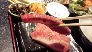 晩翠 - 【2015.06 ランチ】 分厚い上カルビ