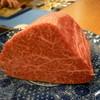 祗園 一道 - 料理写真:☆見事なシャトーブリアンなフィレ肉(≧▽≦)/~♡☆