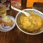 39202275 - 豚玉ラーメン(刀削麺)                       角煮はメルマガクーポンです