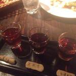 黒猫夜 - 紹興酒のみくらべ