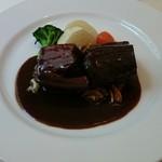 39202805 - 豚バラ肉のデミグラスソース