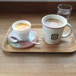 イシヰ珈琲 - 料理写真:プリンセット