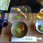 河鹿園 - 料理写真:夕食