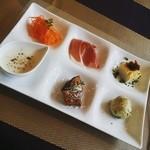 バルタン - 前菜が嬉しい六種類