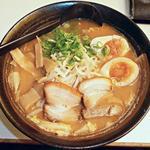 らーめん恵比寿 - 【みそスタミナらーめん + 煮玉子】¥670 + ¥110