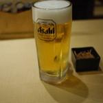 いろり庵 - 生ビール~☆