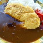 茨木スカイレストラン - オムカレー