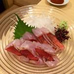 39209165 - 金目鯛炙り刺し(高知産)