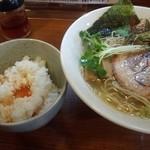かじゅん - 塩ラーメン&TKG