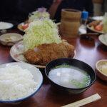 とんかつ 竹亭 - ひれかつ定食