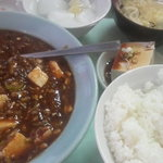 吉田飯店 - マーボ豆腐定食