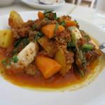 窯蔵 - 牛筋と鎌倉野菜