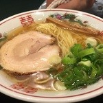 金久右衛門 - 金醤油ラーメン細麺¥670