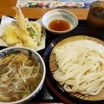 久兵衛屋 - 料理写真:つけ汁天ぷら盛り定食(890円)