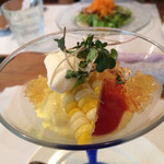 ビストロ ル・ボントン - 6月◆◆トウモロコシのムース 野菜とコンソメのジュレ