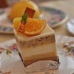 レーブ・ド・ベベ - 柚子を使ったケーキ(^^)絶妙な味のバランス
