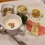 タケゾー - 抜群の美味しい冷製スープ