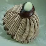 ヒロのお菓子屋さん - 料理写真:花豆のモンブラン